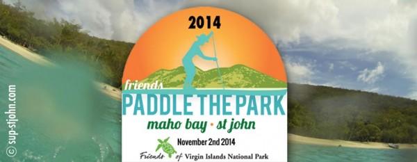 Paddle in the Park SUP Race 2014 St. John, USVI