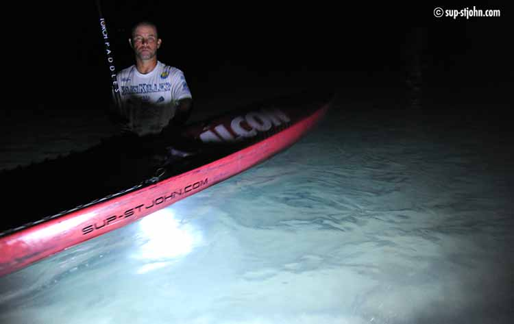 night-sup-stjohn-paddleboard