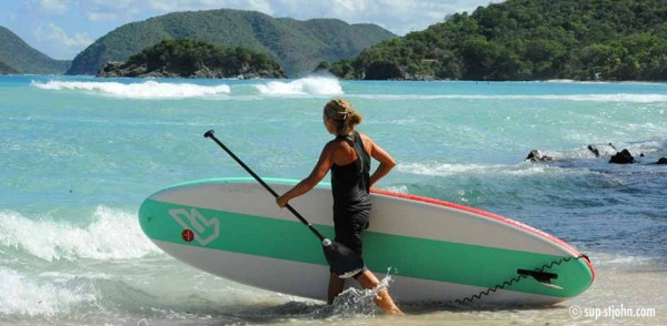 SUP Paddleboard St. John Jumbie Bay