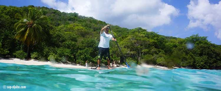 paddleboarding-hawksnest-stjohn-usvi