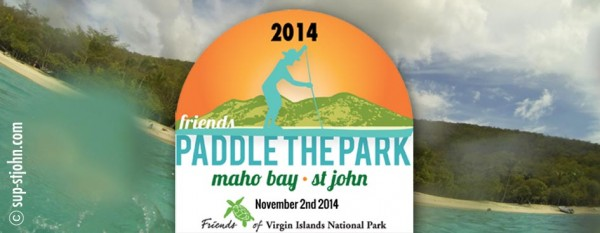 Paddle in the Park SUP Race 2014 St. John, USVI