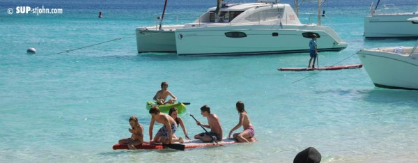 SUP Lessons for Families St. John