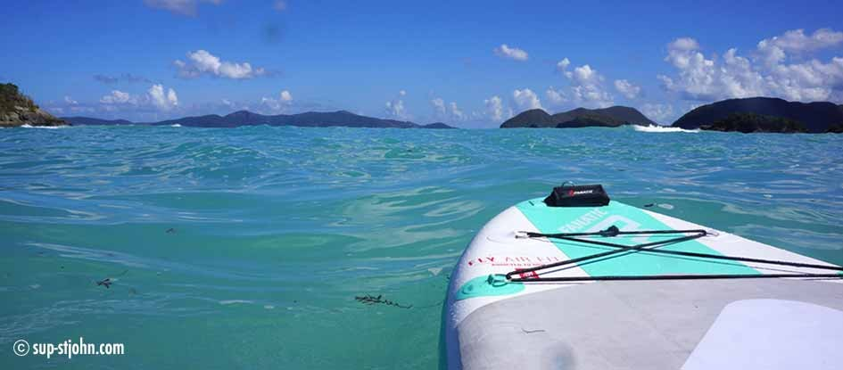 Jumbie Bay Beach Stjohn Paddleboard