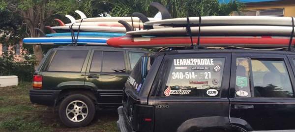 transport-paddleboards-stjohn-rental-car