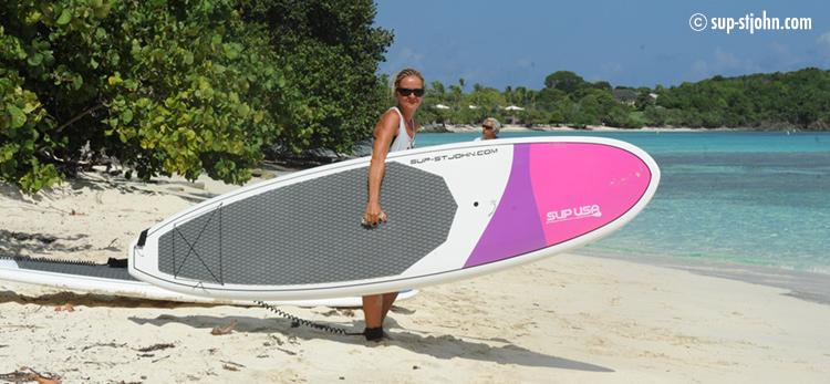 suprental-paddleboard-stjohn-usvi-ladies-board