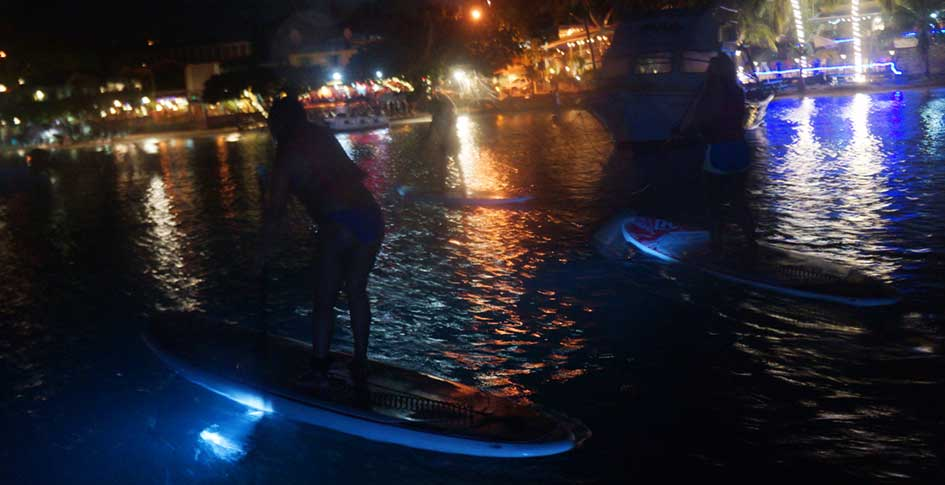 LED-night-paddle-Stjohn-usvi
